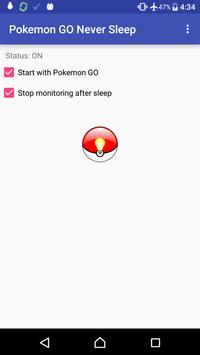 Pokemon GO Never Sleep apk screenshot