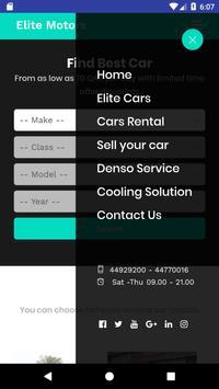 Elite Motors Qatar screenshot 2