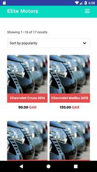 Elite Motors Qatar screenshot 6