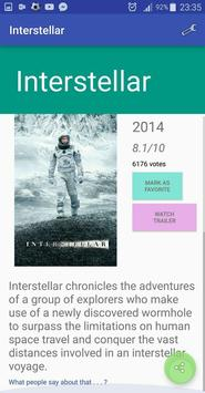 Movies apk screenshot