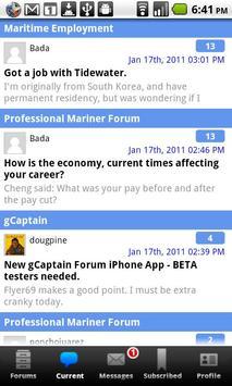 gCaptain Forum apk screenshot