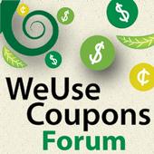 WeUseCoupons Coupon Forum icon