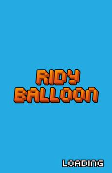 Ridy Balloon poster