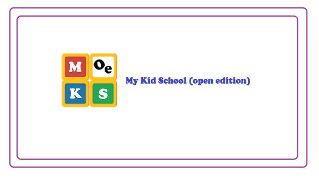 Mykid School (OE) poster