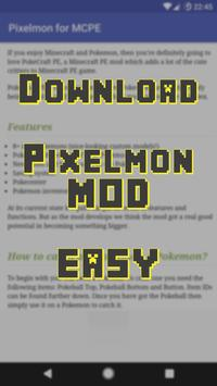 Download Pixelmon MOD for MCPE screenshot 1