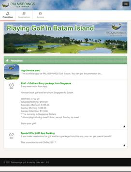 PALMSPRINGS BATAM GOLF screenshot 5