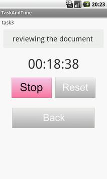 TaskAndTime apk screenshot