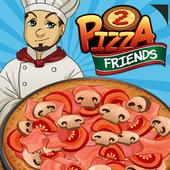 PizzaFriends - Best Fun Restaurant Games For Girls icon