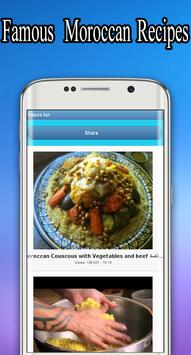 Famous Moroccan Recipes For Free screenshot 2