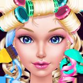 Prom Queen Hair Stylist Salon icon