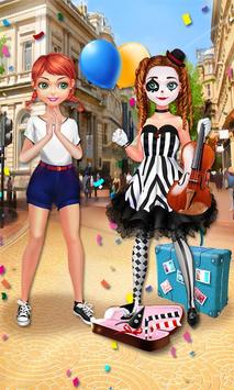 Mime Show Girl - Costume Party screenshot 4