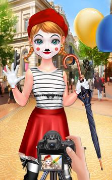 Mime Show Girl - Costume Party screenshot 12