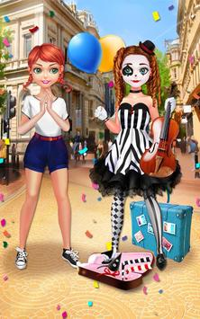 Mime Show Girl - Costume Party screenshot 14