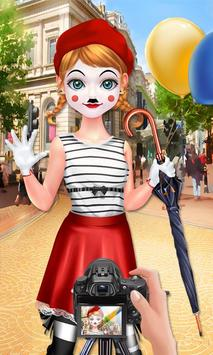Mime Show Girl - Costume Party screenshot 2