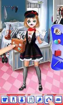 Mime Show Girl - Costume Party screenshot 3