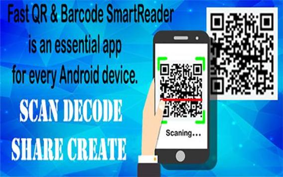 Fast QR & Barcode SmartReader poster