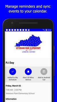 Veterans Park Elementary-FCPS apk screenshot
