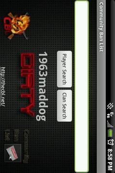 Community Ban List screenshot 1