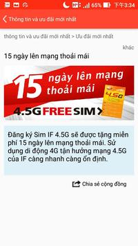 IF Prepaid Vietnam screenshot 2