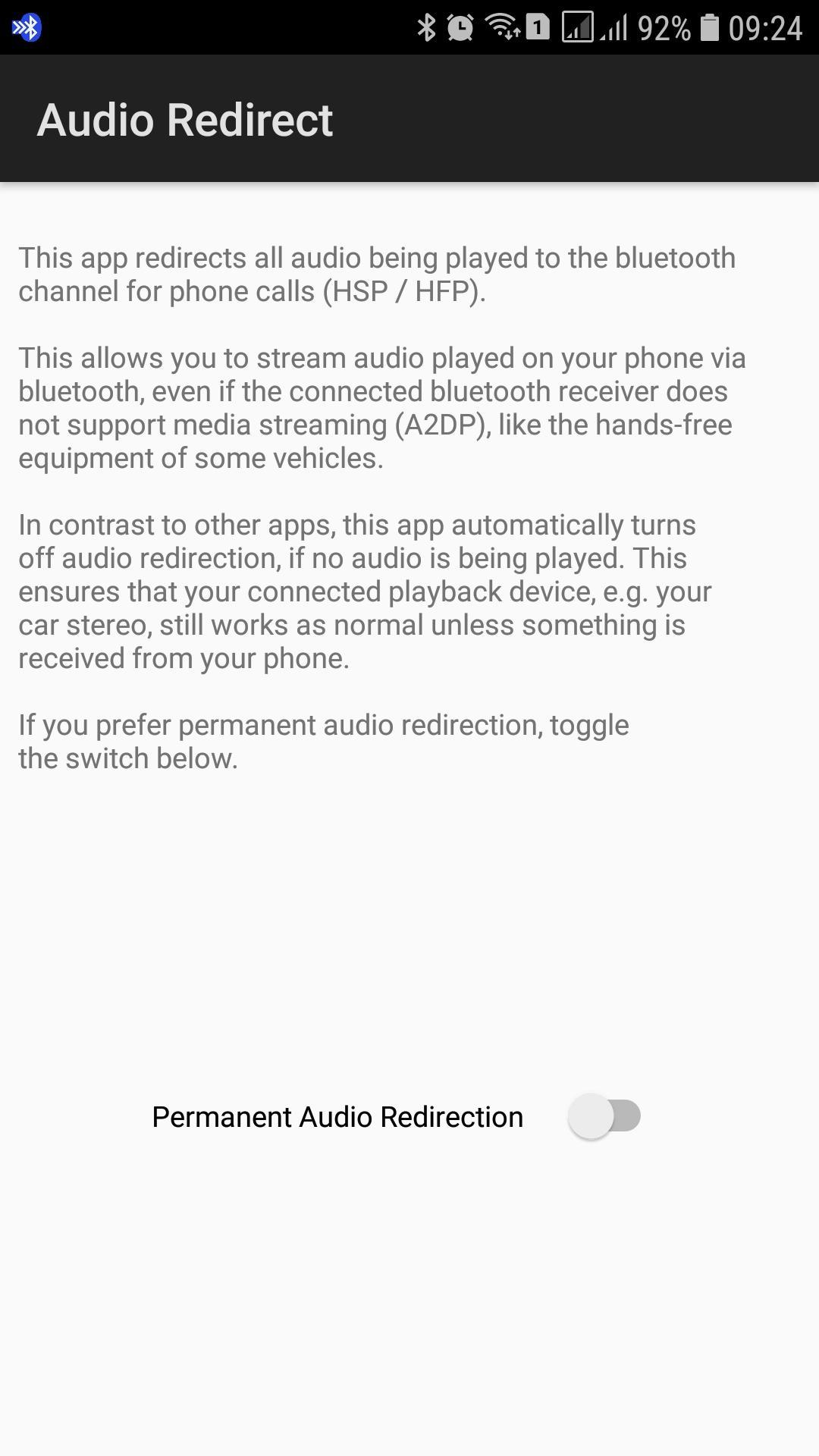 Bluetooth Audio Redirect for Android - APK Download