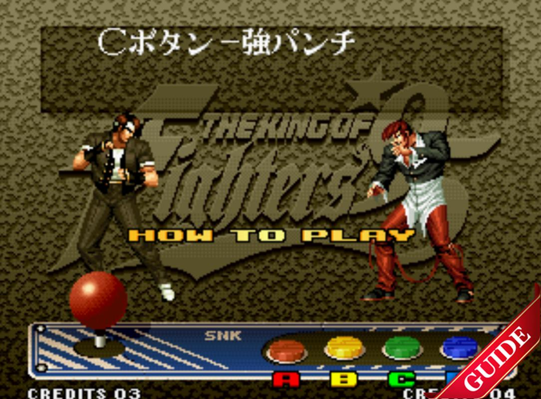 Guide For King Of Fighters 95 3