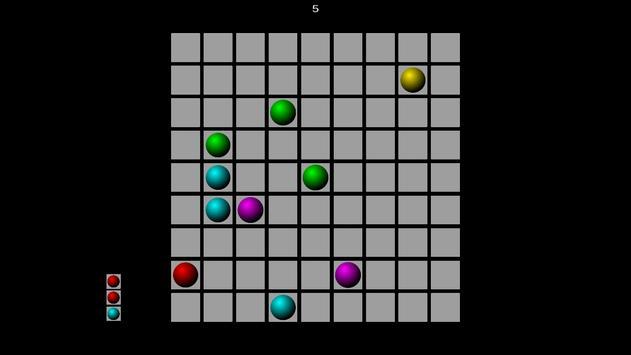 Simple Color Lines screenshot 1