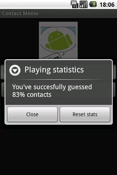 Contact Memo apk screenshot