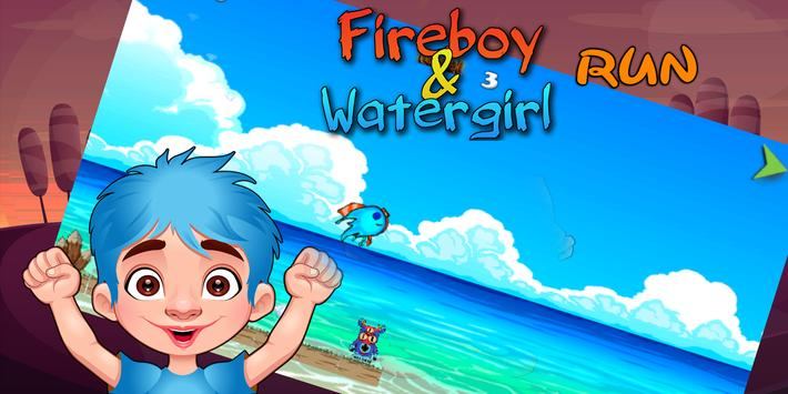 Fireboy and Watergirl Run apk screenshot