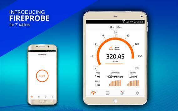 FIREPROBE Speed Test ảnh chụp màn hình 9