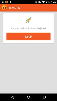 FlashVPN Free VPN Proxy apk imagem de tela