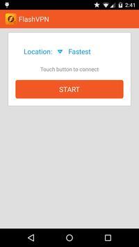FlashVPN Free VPN Proxy Cartaz