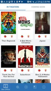 Movies by Flixster, with Rotten Tomatoes poster