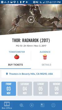 Movies by Flixster, with Rotten Tomatoes screenshot 2