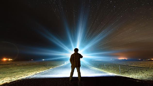 Brightest Flashlight - LED poster