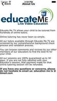 Educate Me TV apk screenshot