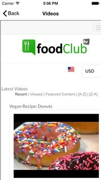 Food Club TV screenshot 1