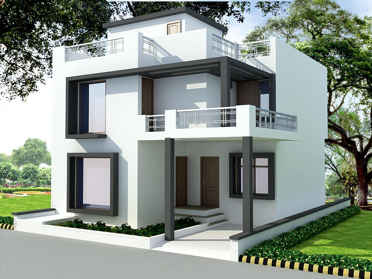 House Front Design Indian Style Pour