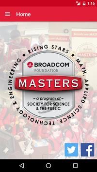 Broadcom MASTERS poster