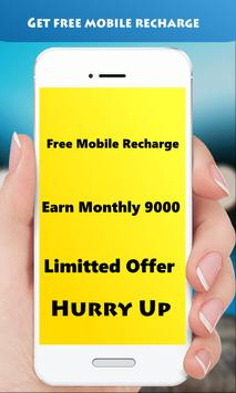 Free Recharge poster
