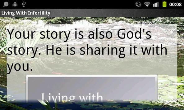 Living with Infertility apk screenshot