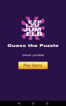 Guess the Puzzle - Word Jumble apk screenshot