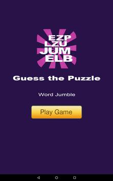 Guess the Puzzle - Word Jumble apk screenshot