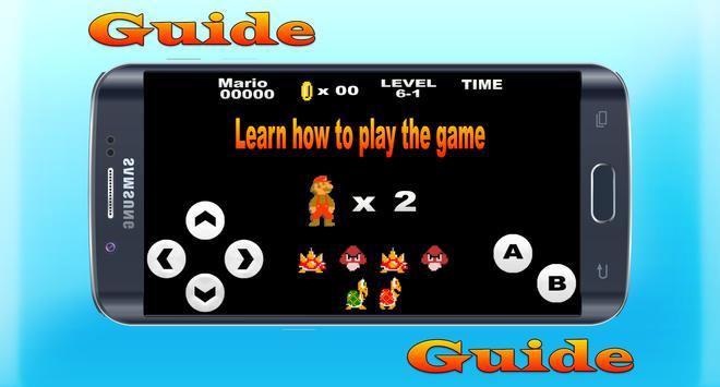 Guide for Super Mario Bros screenshot 1