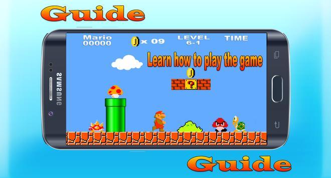 Guide for Super Mario Bros screenshot 2