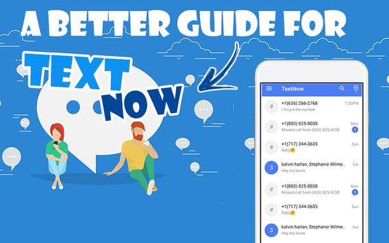Guide TextNow -free text and Calls- screenshot 2
