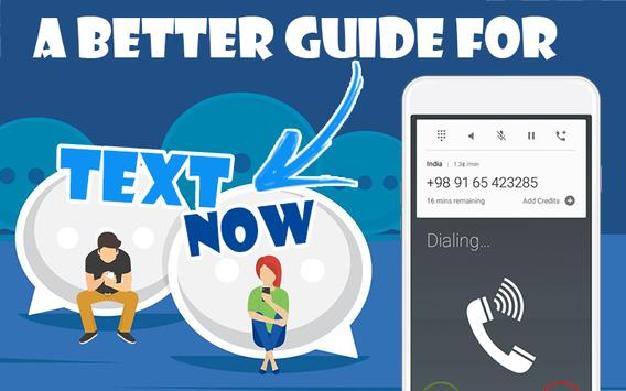 Guide TextNow -free text and Calls- screenshot 7