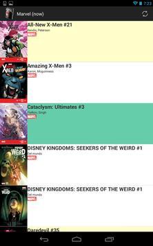 Comic Releases apk screenshot
