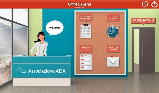 Gymcentral Demo apk screenshot