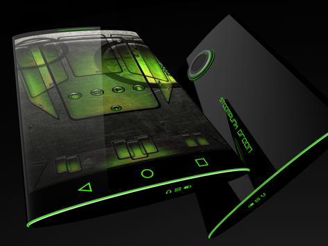 Steampunk Green theme for Next Launcher screenshot 5