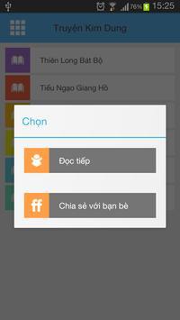 Truyen Kim Dung apk screenshot